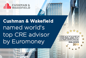 Cushman & Wakefield named world's top CRE advisor by Euromoney